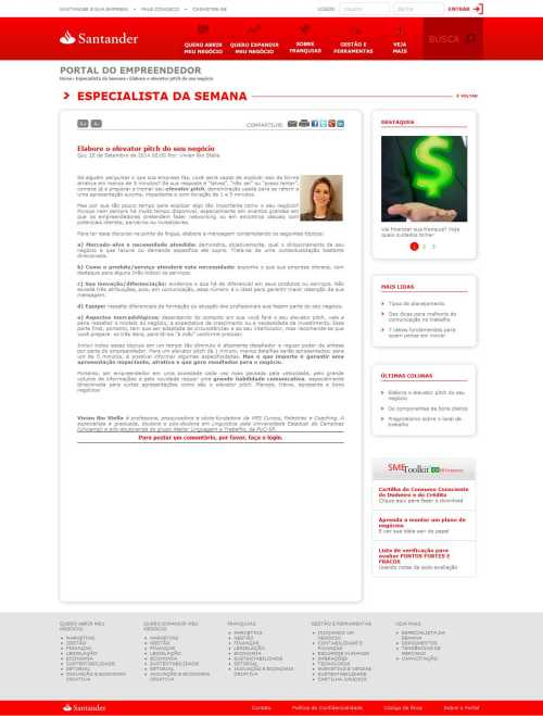 25-09-2014 - Portal Santander Empreendedor
